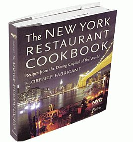 NYC restaurant Cookbook